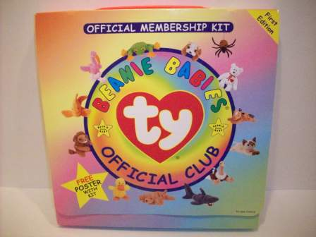 Ty Beanie Babies Official Club Membership Kit